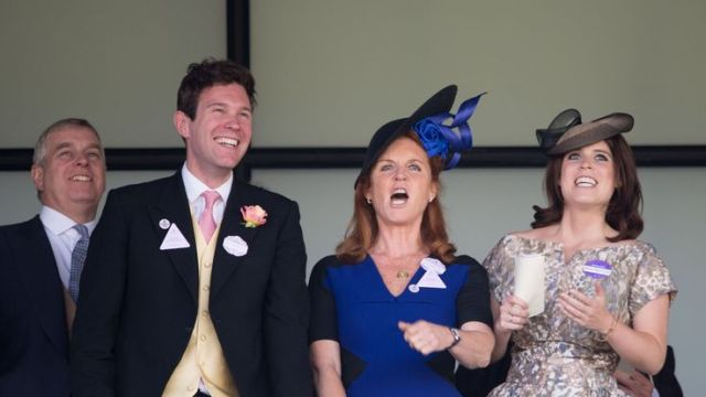 The Duchess of York is a big fan of her future son-in-law