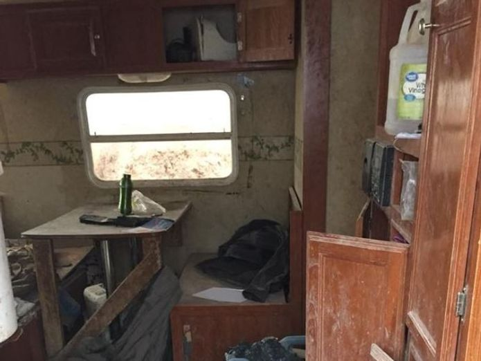 The compound in Amalia, New mexico, where the children were found. Pic: Taos County Sheriff  'Starving' children are found on US compound skynews amalia new mexico compound 4381784