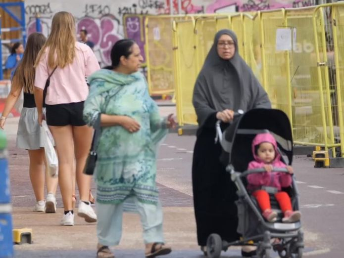 Normally liberal Denmark  The women facing fines for what they choose to wear skynews burka denmark 4386615