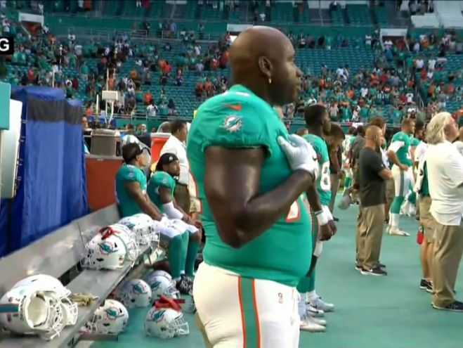 The NFL says its stance on the demonstrations remains unchanged