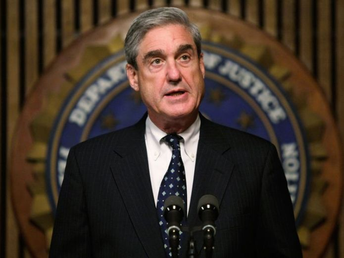 Special Counsel Robert Mueller is heading up the Russia probe in possible collusion  Trump's ex-lawyer says he arranged hush money for the president skynews robert mueller russia probe 4377758