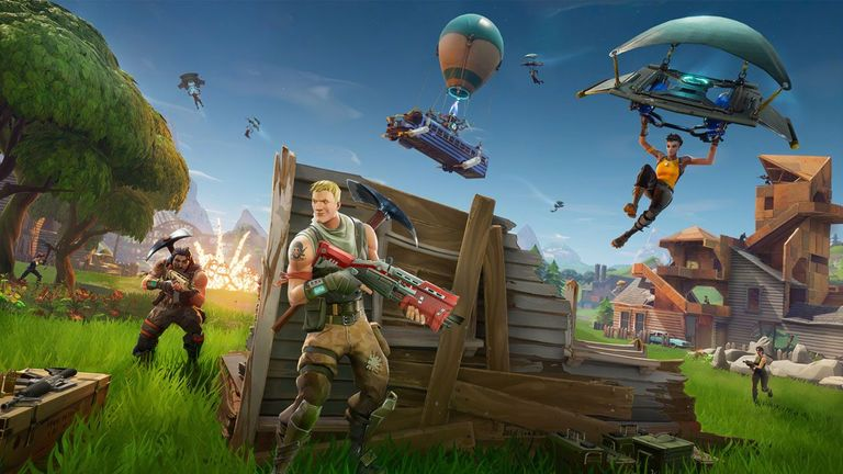 Fortnite generates hundreds of millions of dollars in revenue each month. Pic: Epic Games