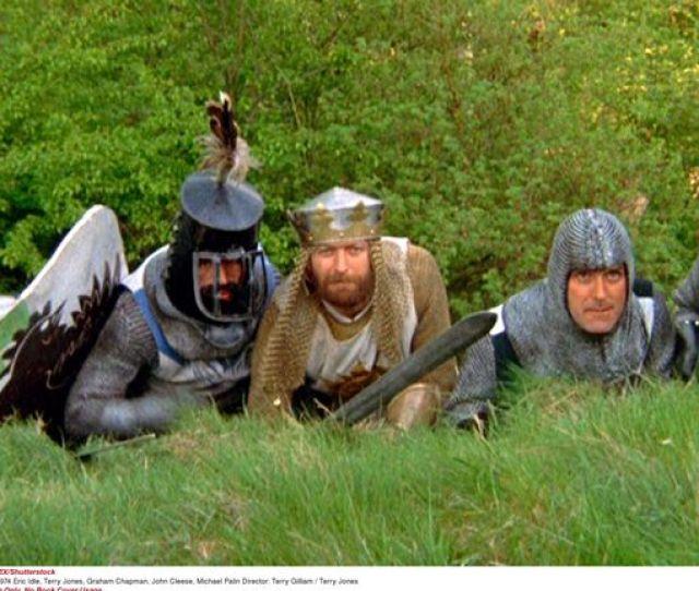 Monty Python The Holy Grail 1974 Eric Idle Terry Jones Graham Chapman