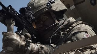 British troops in the Quick Response Force are ready for emergency response in Kabul  Islamic State fighters in Afghanistan 'in touch with UK cells' skynews afghanistan kabul 4409014