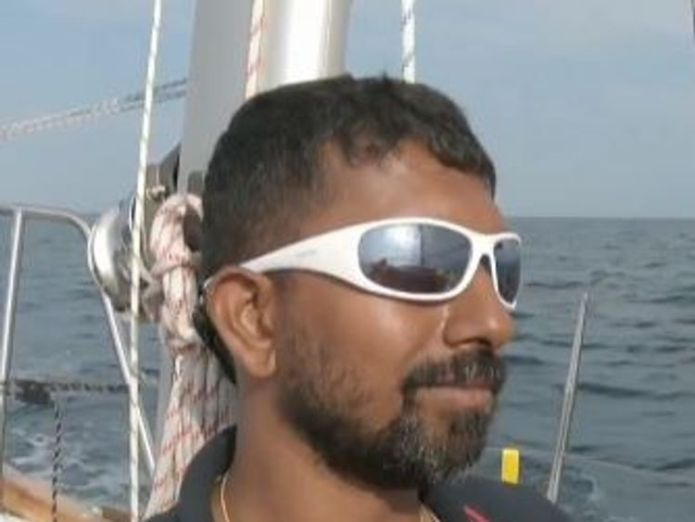 Abhilash Tomy  Mission to rescue badly injured solo sailor stranded 2,000 miles out to sea skynews abhilash tomy golden globe race 4431099