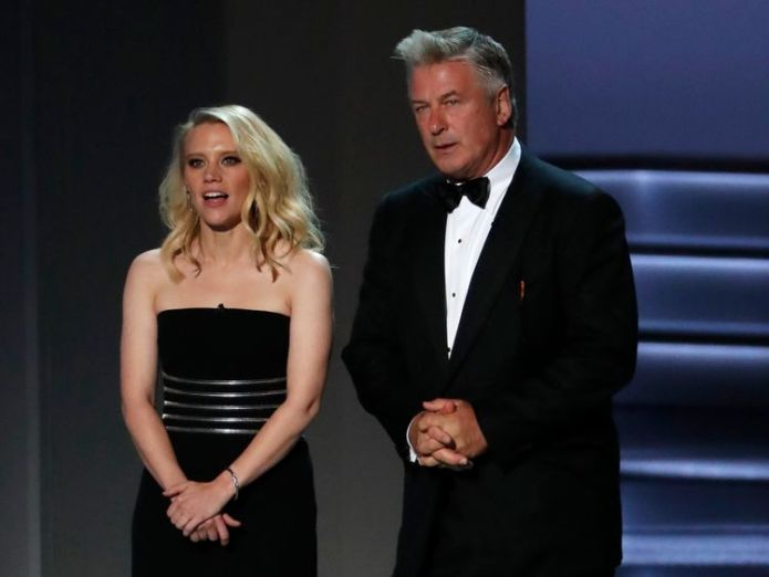 Kate McKinnon and Alec Baldwin  Justin Bieber and Hailey Baldwin are married, says her uncle Alec Baldwin skynews alec baldwin kate mckinnon 4425337