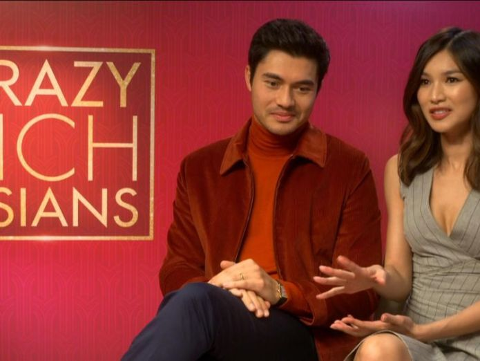 Gemma Chan says a whole generation has not seen themselves in the mainstream  High hopes as Crazy Rich Asians prepares to hit UK cinemas skynews gemma chan crazy rich asians 4411693