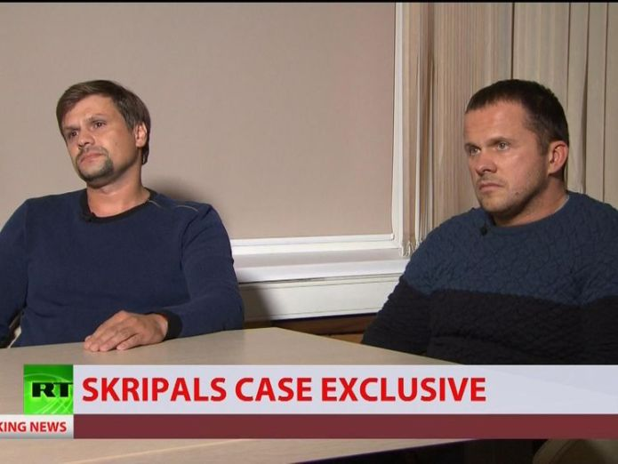 Novichok suspects   Second Russian suspect in Skripal poisoning named as Dr Alexander Mishkin skynews novichok suspects rt russia today 4419364