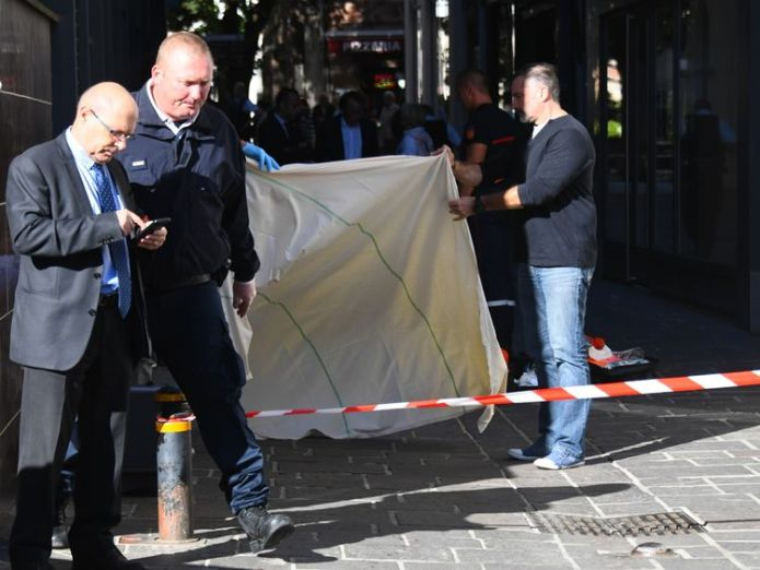 Pascal Filoé was stabbed to death outside Rodez city hall and died in hospital several hours later  French police chief stabbed to death 'over dog ban' skynews pascal filo france 4436077