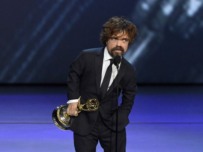 Peter Dinklage won for his portrayal of Tyrion Lannister