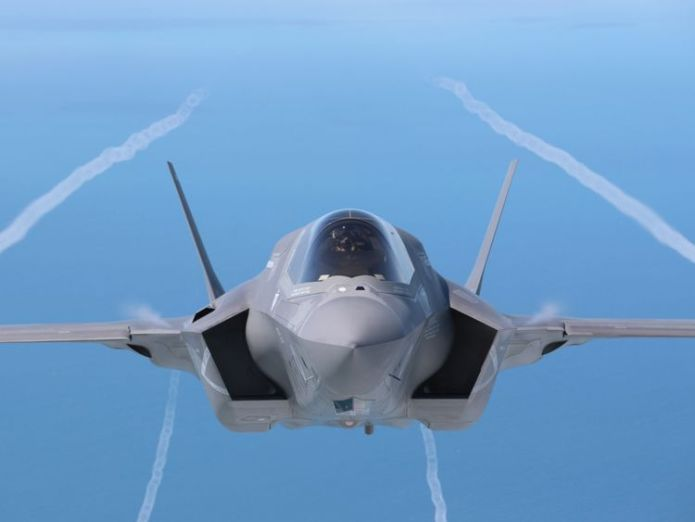 A F-35B aircraft has crashed in South Carolina  US F-35 stealth fighter crashes for first time in history of programme skynews south carolina f 35 4437061