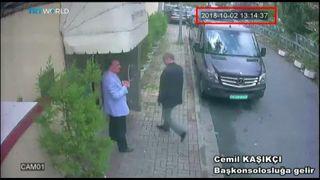 Jamal Khashoggi murder tapes shared with UK, says Erdogan skynews khashoggi saudi 4458588