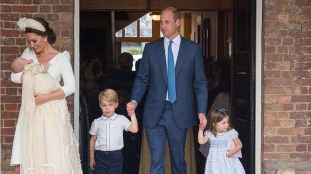 Royals George and Charlotte will be part of a royal bridal party for the second time this year