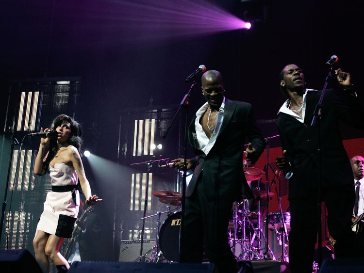 Winehouse's hologram will be accompanied by a live band and backing singers