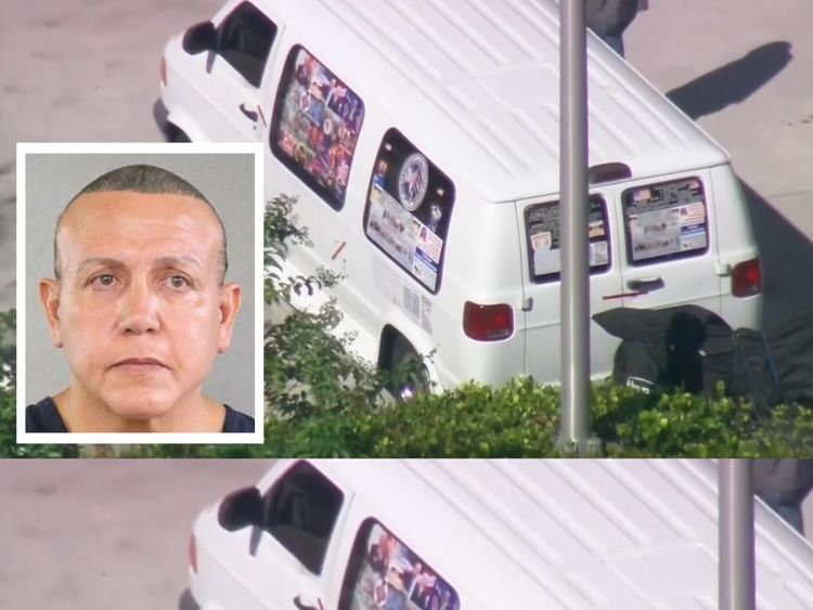 Cesar Sayoc has been arrested in connection with the suspicious packages