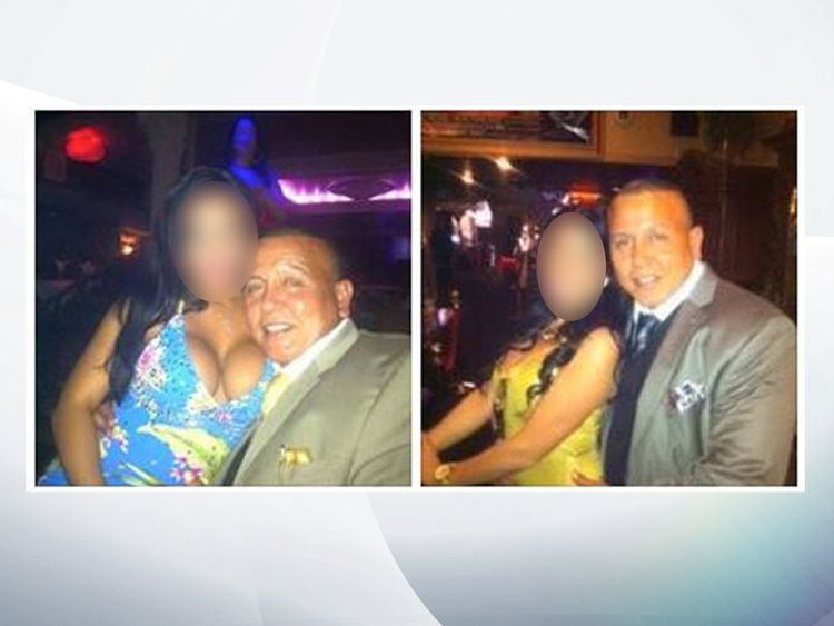 Sayoc shared a bumber of photos of himself with attractive woman. Pic: Cesar Sayoc