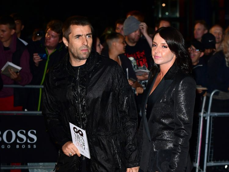 The couple pictured on the red carpet ahead of last year's GQ Men of the Year