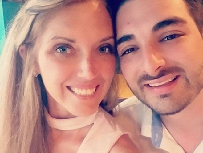Erin McGowan, who died with her husband Shane, sent a text moments before they died. Pic: Facebook/Erin McGowan