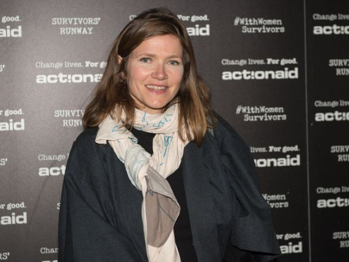 Jessica Hynes during the ActionAid Fashion Show held at The Old Truman Brewery on October 10, 2017 in London  The anger at Harvey Weinstein has been turned into something positive, says London Film Festival director skynews jessica hynes actionaid 4449084