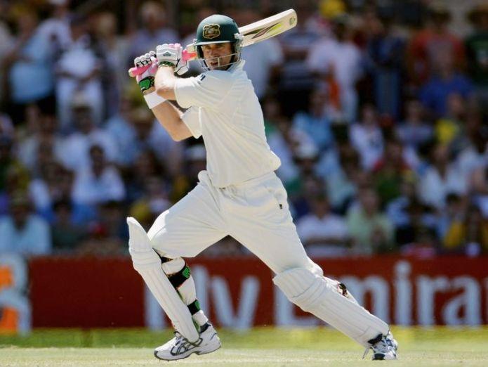 Matthew Hayden in action for Australia in 2008  Former Australia cricketer Matthew Hayden fractures neck bone while surfing skynews matthew hayden australia 4447099