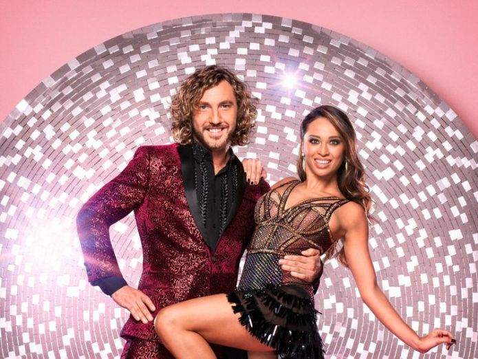Walsh and Jones were photographed kissing after a night out in London  Ex-girlfriend of Strictly Come Dancing star Seann Walsh says she is 'no victim' skynews seann walsh katya jones 4447579