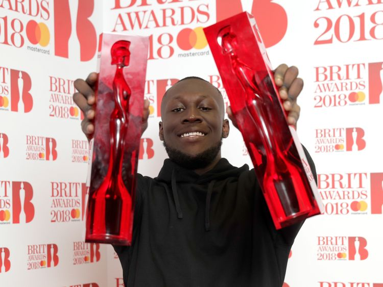 Stormzy has won a host of awards since he burst onto the scene