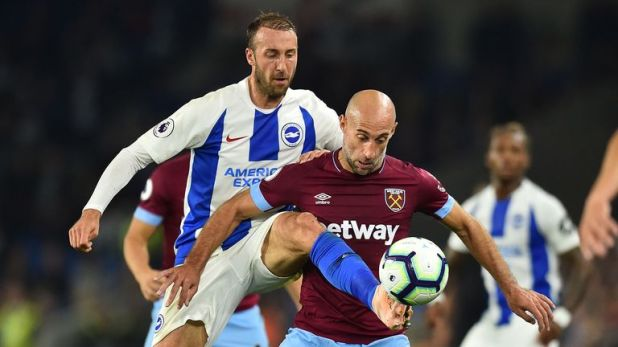 Highlights of Brighton's victory over West Ham in the Premier League
