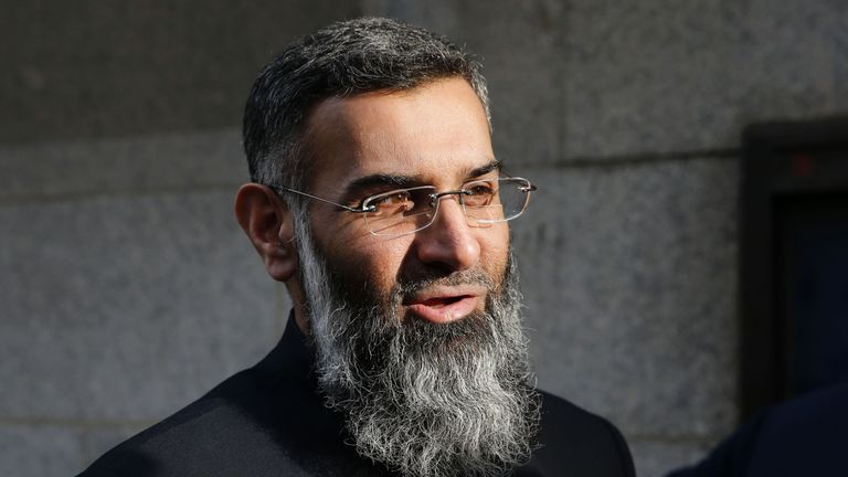 The Islamist preacher was due for automatic release after reaching the halfway point of his sentence