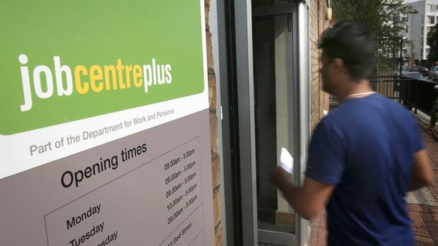 The entrance to a jobcentre plus near Westferry in East London. PRESS ASSOCIATION Photo. Picture date: Tuesday September 16, 2014. Photo credit should read: Philip Toscano/PA Wire
