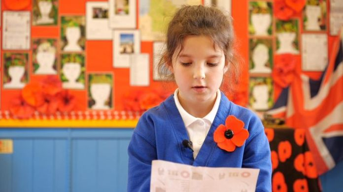 Pupils at a local school each adopted a soldier to write to.  The village that brought its fallen soldiers back to life skynews snettisham ww1 4478238