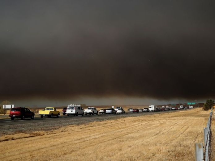 Residents fled in cars but some had to abandon them  Thousands displaced in California wildfire skynews fire california 4481095