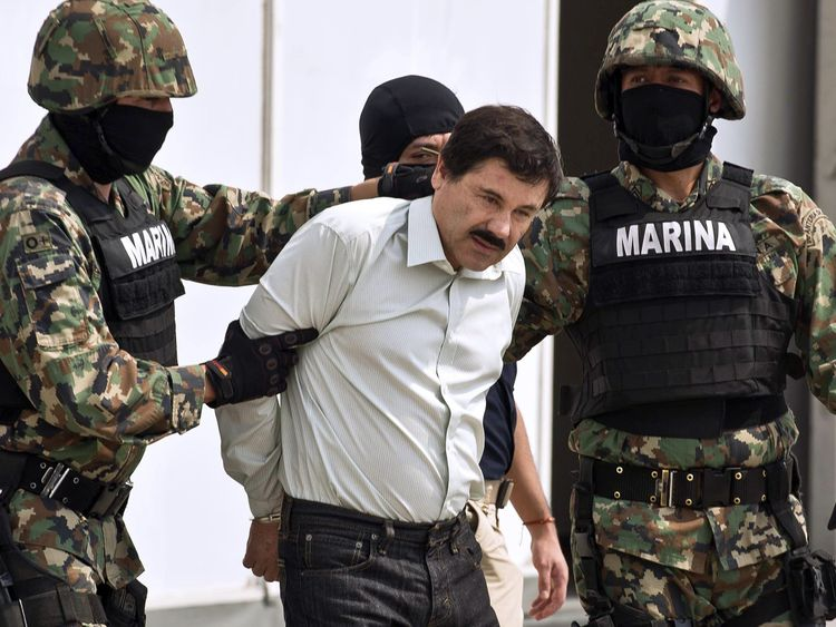 Guzman's trial wants to take place amid high security