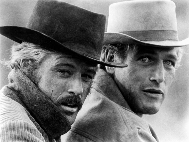 Robert Redford and Paul Newman in Butch Cassidy and the Sundance Kid - screenwriter William Goldman