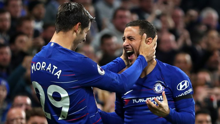Highlights from Chelsea's 3-1 win over Crystal Palace in the Premier League.