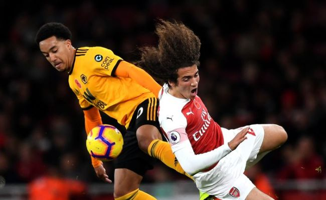 Arsenal 1 1 Wolves Match Report Highlights