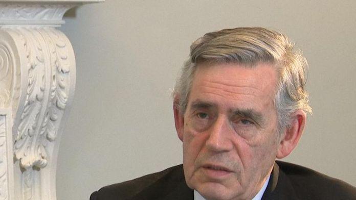 Resultado de la imagen para fotos de Gordon Brown