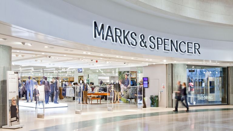 M&S at the Bluewater shopping centre