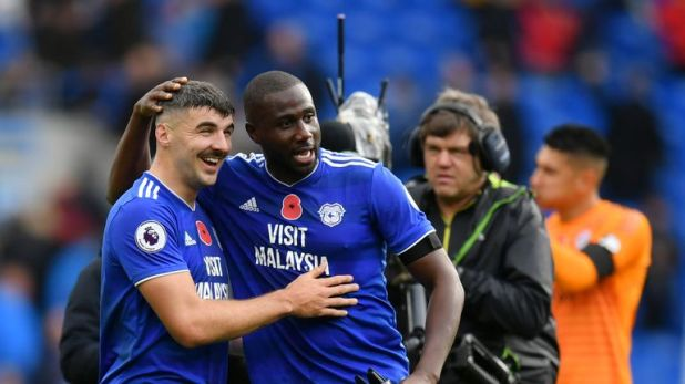 Highlights from Cardiff's 2-1 win against Brighton in the Premier League.