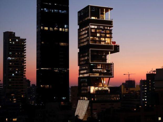 The Ambanis billion-dollar home in Mumbai