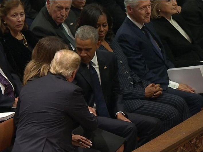 George HW Bush funeral