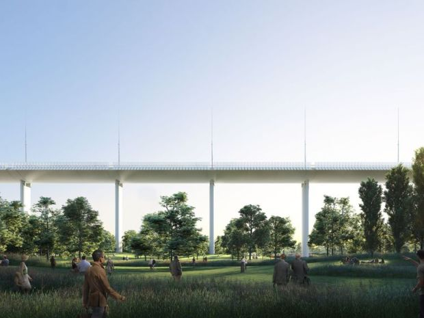 "Renzo Piano said the bridge will be ""simple, not trivial"". Pic: Renzo Piano Building Workshop"