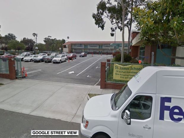 St. James School in Torrance, south of Los Angeles