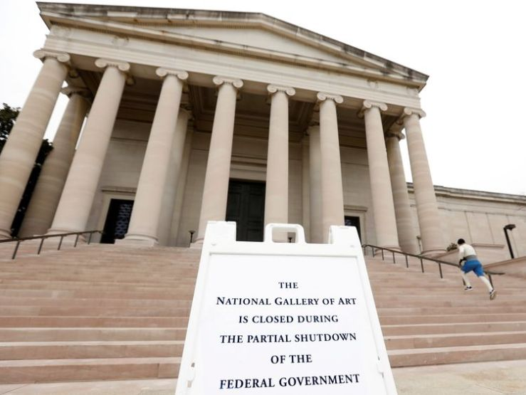 Museums are among the attractions closed because of the shutdown