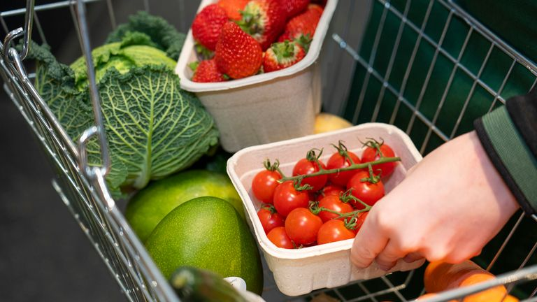 The produce will be sold without any plastic packaging