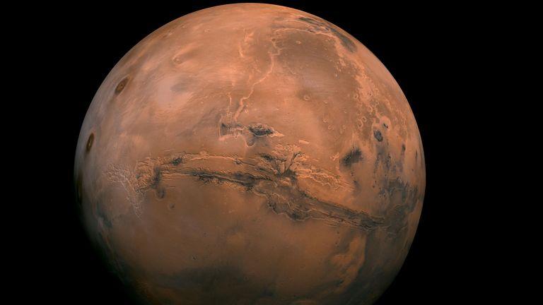Marte também é conhecido como o planeta vermelho