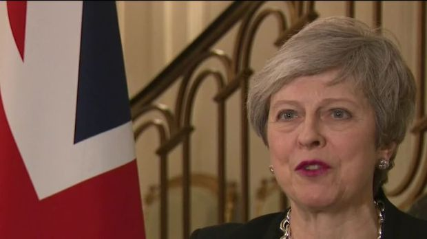 Theresa May speaks to Sky News