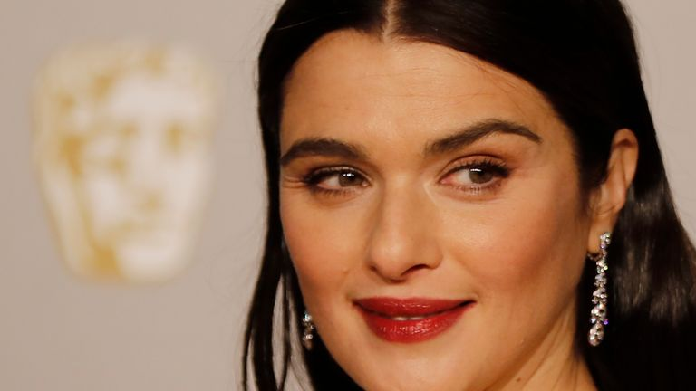 Rachel Weisz at the BAFTA awards