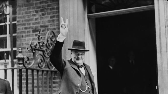 Churchill led a coalition government during the 11th World War