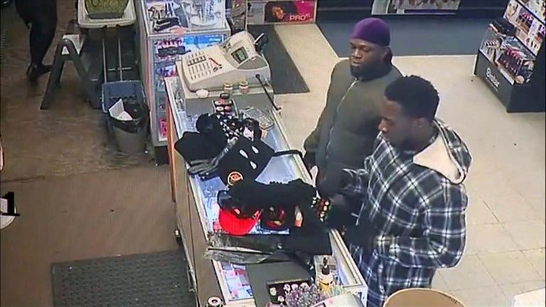 The brothers have been seen on CCTV purchasing items allegedly worn by Smollett's attackers