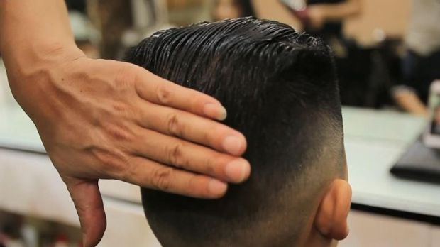 Boy is given 'Kim Jong Un' hairstyle